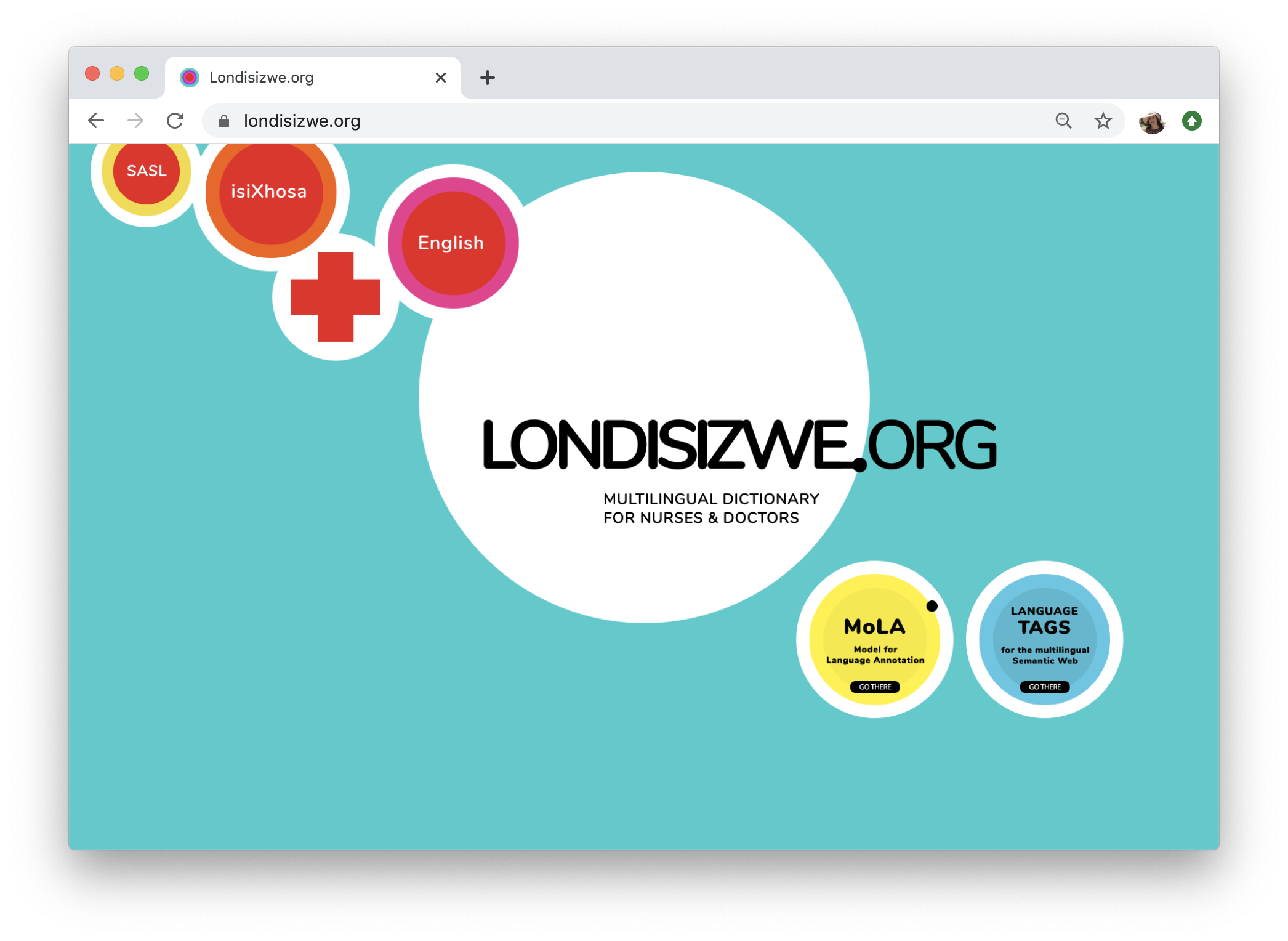 Londisizwe.org - Multilingual Dictionary for Nurses and Doctors